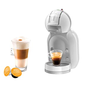 NESCAFE DOLCE GUSTO COFFEE, COFFEE MACHINE, CAPSULES, ESPRESSO, POD, mini me white