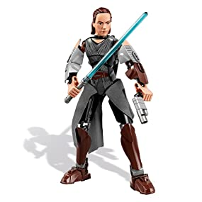 LEGO, Star Wars, Rey, action, figure, episode VIII, empire, the force, jedi, light saber, buildable