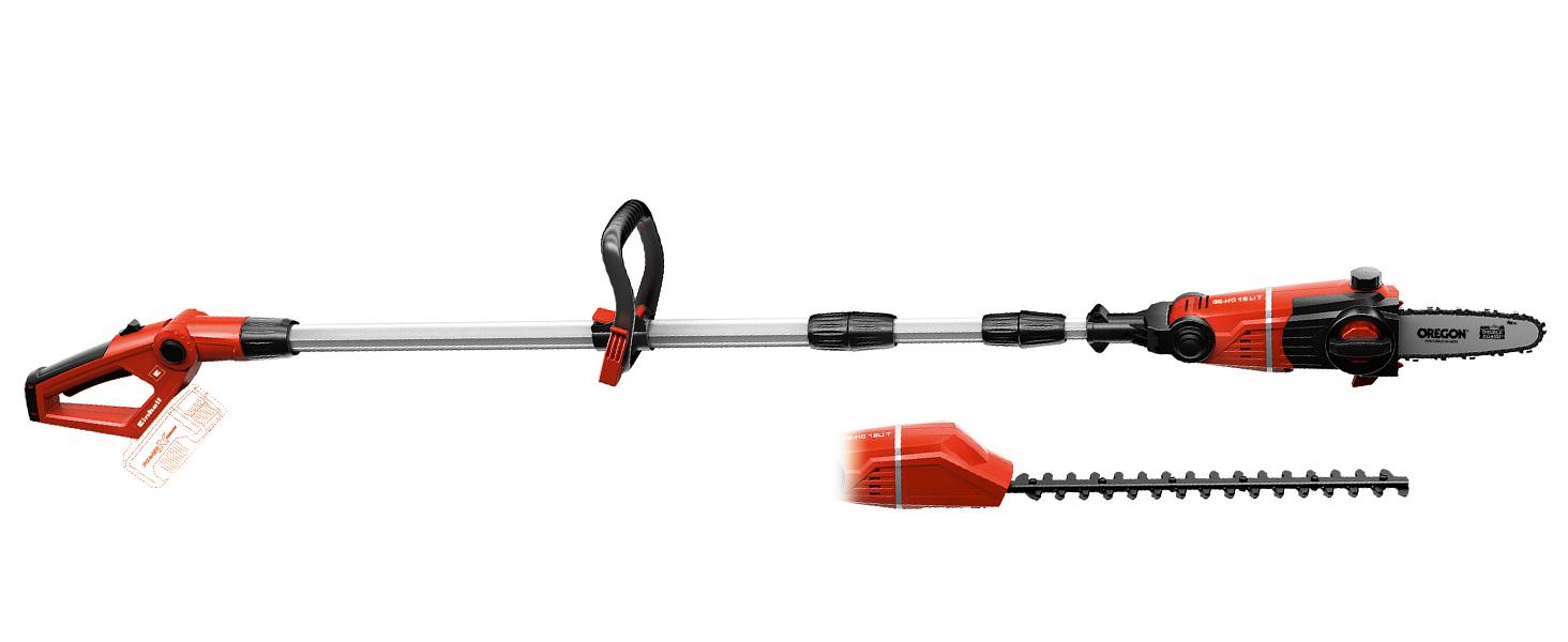 Einhell GE-HC 18 Li T-Solo -Pack con herramienta multifuncional ...