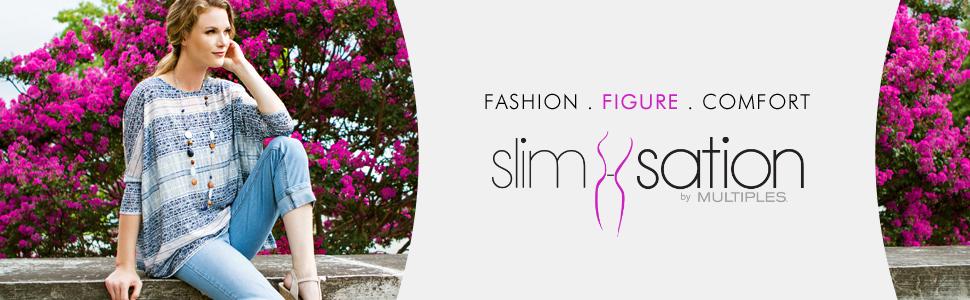 Slimsation fashion figure comfort slimming pant