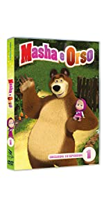 Amazon.it masha e orso volume 01: acquista in dvd e blu ray