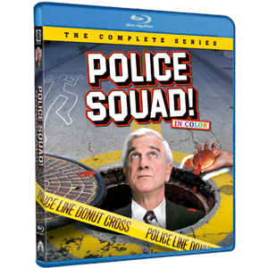 Amazon Com Police Squad The Complete Series Blu Ray Leslie Nielsen Alan North Rex Hamilton Ed Williams William Duell Peter Lupus Barry Letts Movies Tv