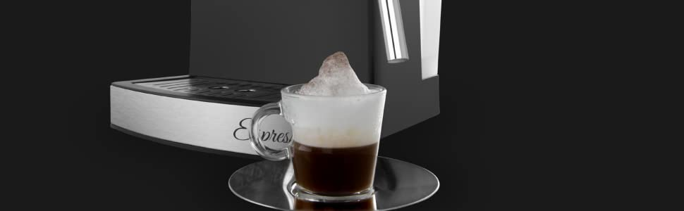 Orbegozo EX 3050 Cafetera Espresso con Bomba Italiana de 20 Bares ...