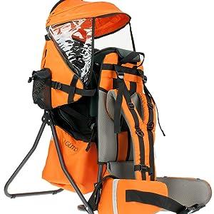 mochila portabebé, mochila porta niños, mochila trecking, mochila espalda bebé, mochila espalda