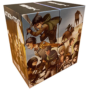 Attack on Titan manga box set season 3 part 1 part 2
