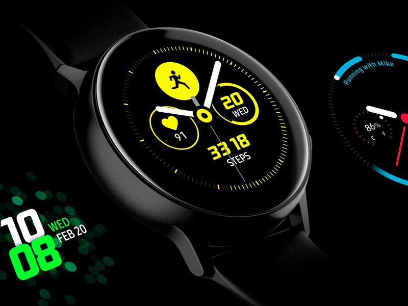 Esfera deportiva Galaxy Watch Active