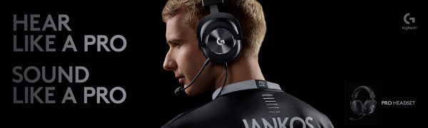 Logitech G pro hypersonic gaming headset