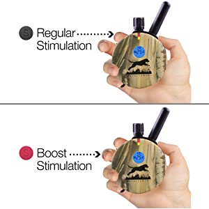 Regular or Boost Stimulation