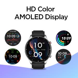 AMOLED Display Smartwatch