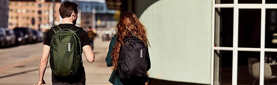 thule backpack, thule bag, thule commuter bag, subway bag, city bag, laptop bag, protective bag