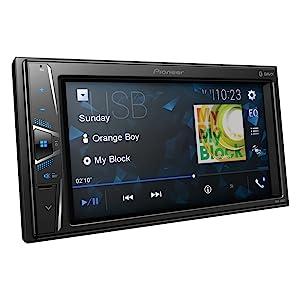 NH Pioneer Radio MVH-A200VBT 2DIN Bluetooth mit Einbauset f/ür Skoda Rapid Spaceback ab 2013