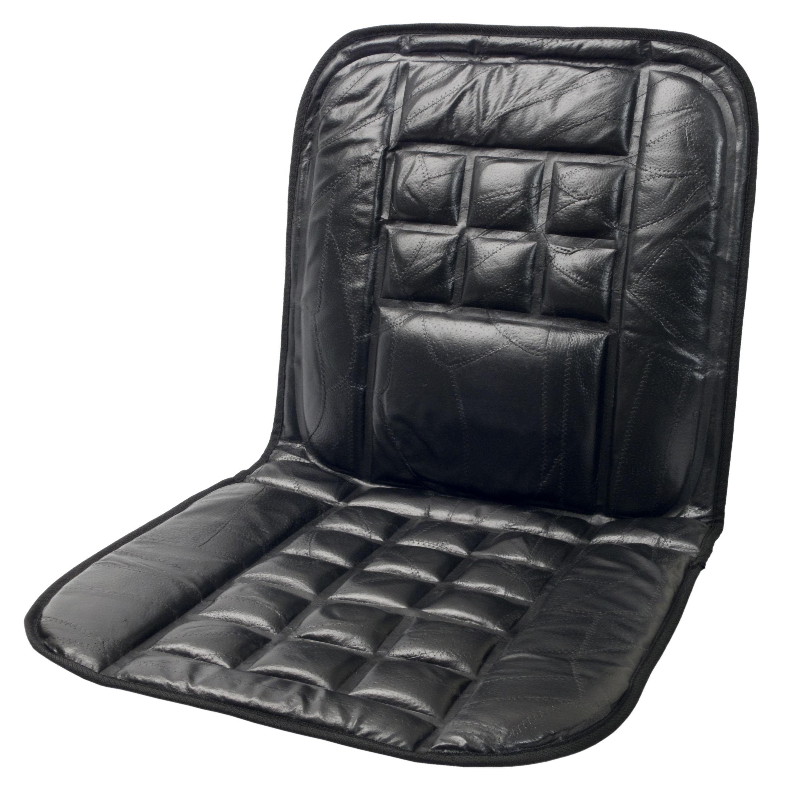 amazon com wagan in9615 leather lumbar support cushion automotive