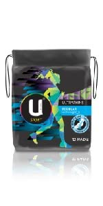 ubk, u by kotex, sports pads, pads with wings, fitness pads, period protection, sanitary pads, pads