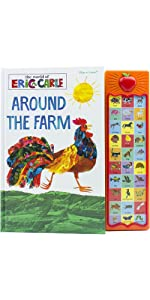 World of Eric Carle, Around the Farm 30-Button Sound Book