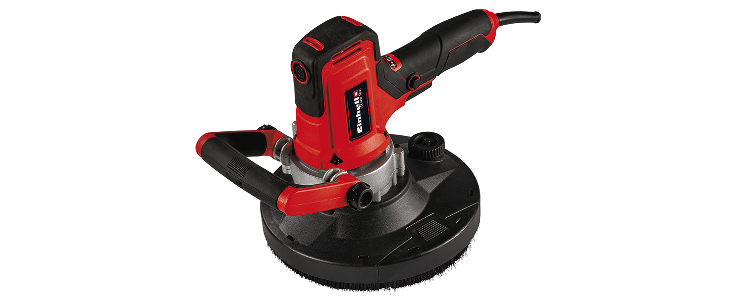 Negro Einhell 2260140 Tracci/ón por cable con palanca manual Rojo