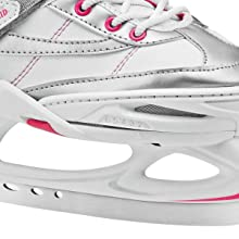 Ice skates for kids with adjustable sizing