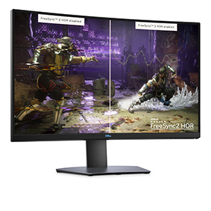 HDR curve screen monitor