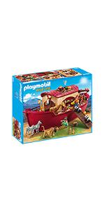 PLAYMOBIL Family Fun Lancha con Flotadores, A partir de 4 años ...