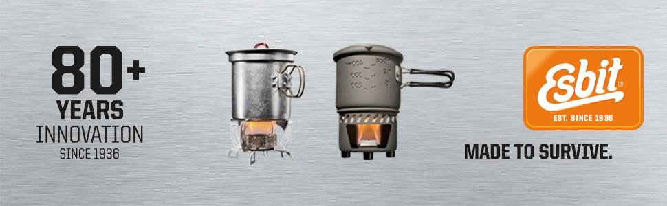 ESBIT; Thermobehälter; Isolierbehälter; Lebensmittelbehälter; Foodjug;
