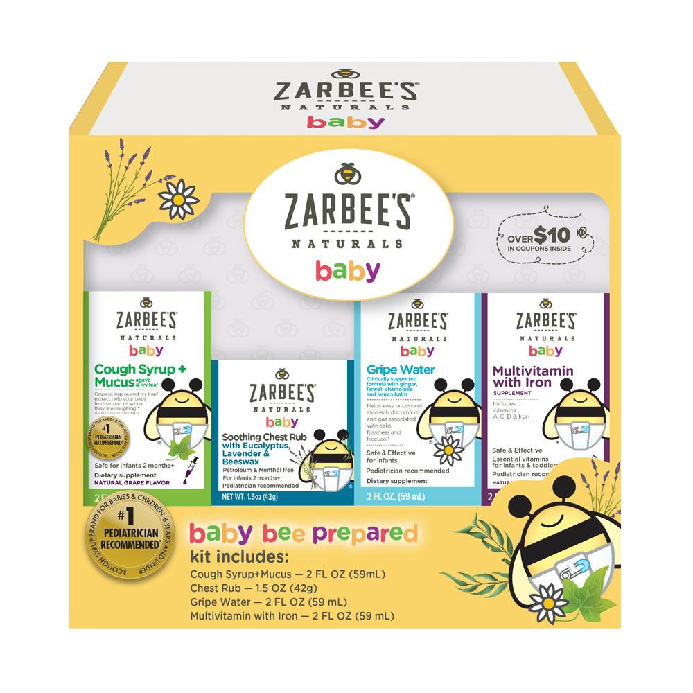 Amazon Com Zarbee S Naturals Baby Bee Prepared Kit With