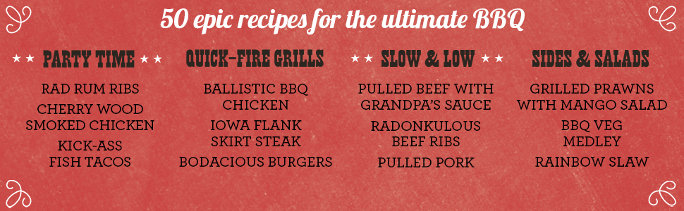 50 epic recipes for the ultimate bbq