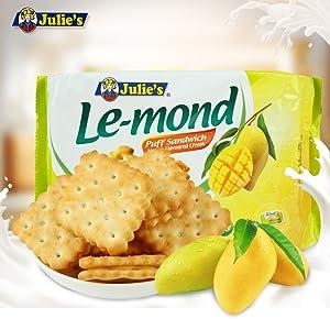 Julie's Lemond Mango Sandwich