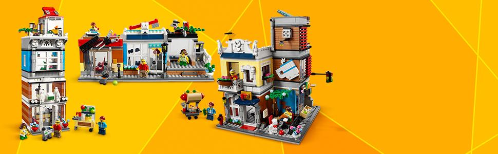 LEGO Creator 3in1 Townhouse Pet Shop & Cafe