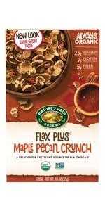 Flax Plus Maple Pecan Crunch