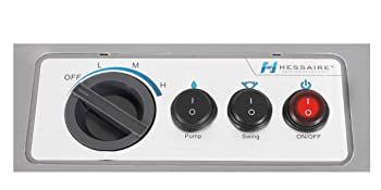 Hessaire MC37 Portable Evaporative Cooler Control Panel