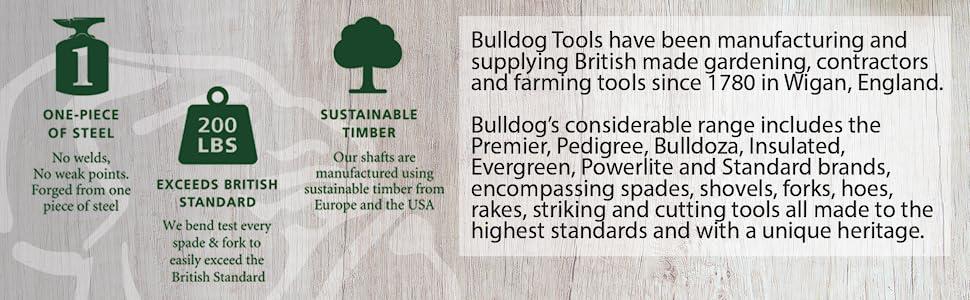 Bulldog BUL7103 7103 Evergreen Digging Fork