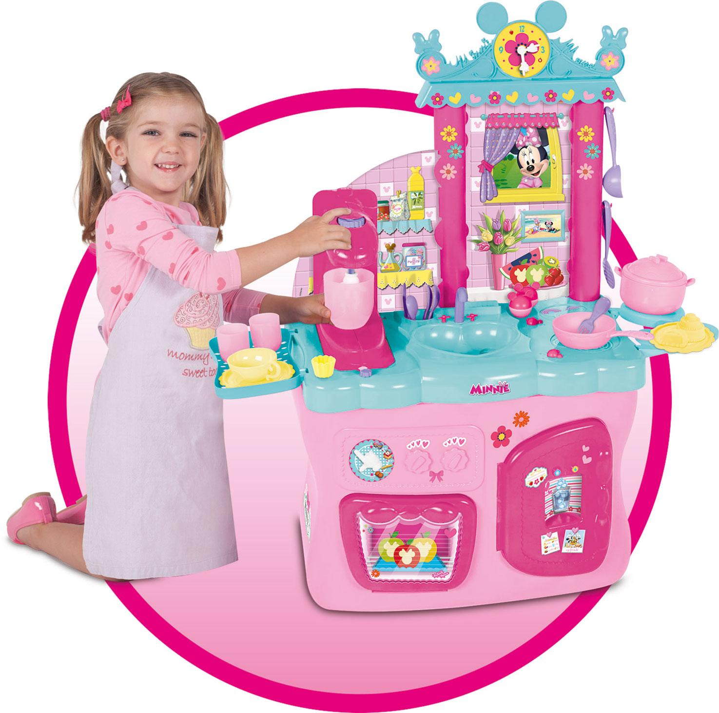 imc toys cuisine minnie 181694 disney jeux et jouets. Black Bedroom Furniture Sets. Home Design Ideas