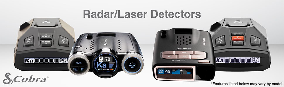 Radar/Laser Detectors