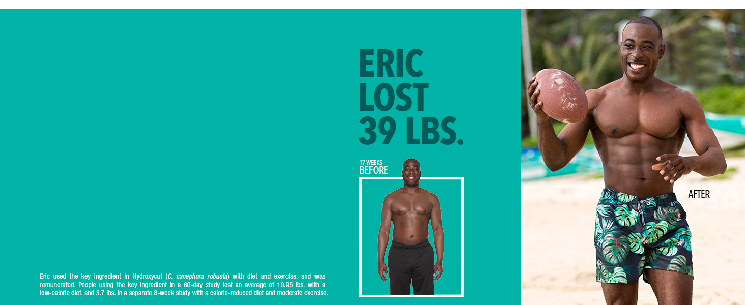 Eric Lost 39 lbs.