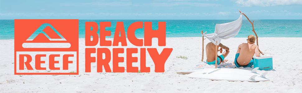 Beach Freely, Fanning, Bottle Opener, Sandal