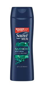 Suave Men Quench Body Wash