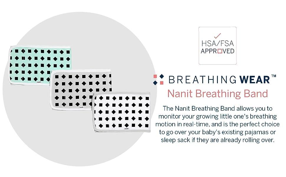 nanit breathing band