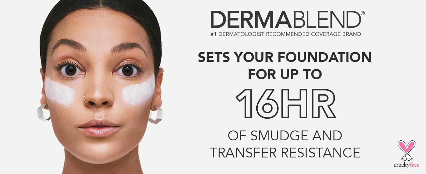 dermablend loose setting powder setting powder face powder makeup setting powder setting makeup