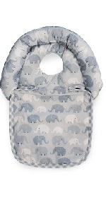 boppy noggin nest, head support, baby support, body support