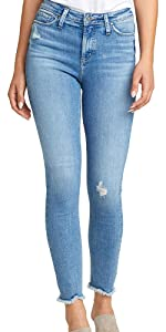 SILVER JEANS CO MOST WANTED MID RISE SKINNY