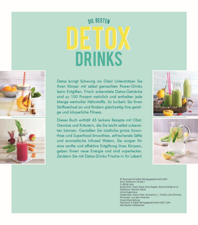 Die besten Detox-Drinks: Leckere Smoothies, Säfte und Infused Waters ...