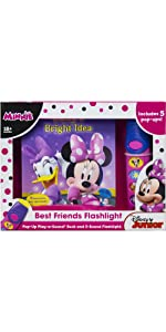 Minnie Mouse - Best Friends Pop-Up Sound Board Book and Flashlight