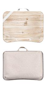 heritage, lapdesk, lapgear, wood, desk, premium, laptop, work, crafts, natural, device ledge, strap