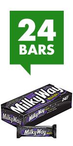 MILKY WAY Simply Caramel Milk Chocolate Candy Bars Singles Size