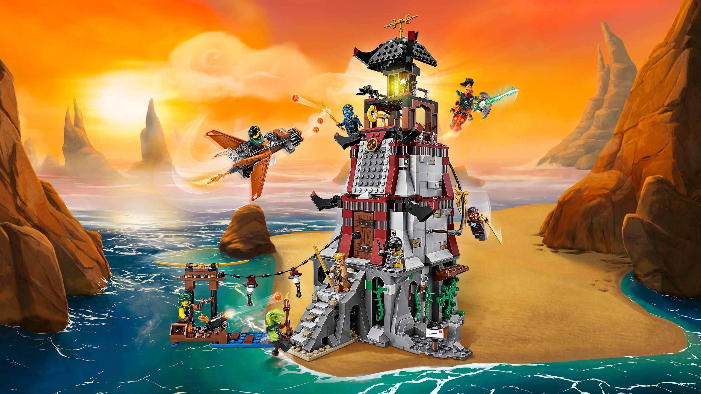 Lego Ninjago The Lighthouse Siege 70594 View Larger