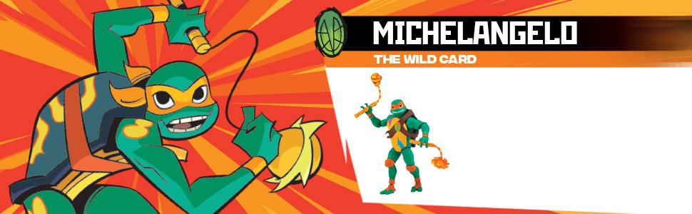 Amazon.com: Figuras de acción de TMNT, Michelangelo: Toys ...