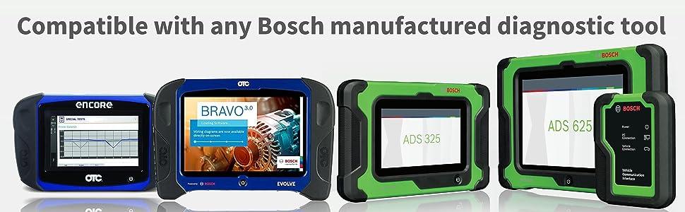 Bosch TPA 300 3934 ADS 120 325 625 OTC Encore Evolve Diagnostic Tool Solution TPMS OBD II