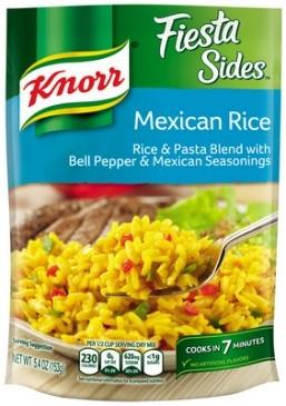 Amazon Com Knorr Fiesta Side Dish Mexican Rice 5 4 Oz