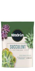 Miracle-Gro Succulent Potting Mix