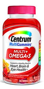 Centrum Multi + Omega 3