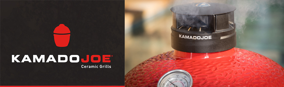 Kamado Joe KJ23RH Classic Joe Grill, 18